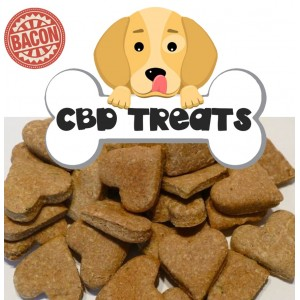 CBD Dog Treats - 30 Pack - 210MG CBD Bacon Flavour