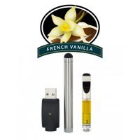 CBD Vape Pen With Pre-Filled 1ml Vape Cartridge - French Vanilla